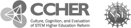 CCHER and NSF logo